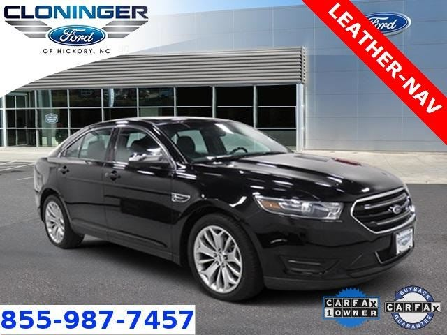 2016 Ford Taurus Limited Certified Nav Leather In Hickory