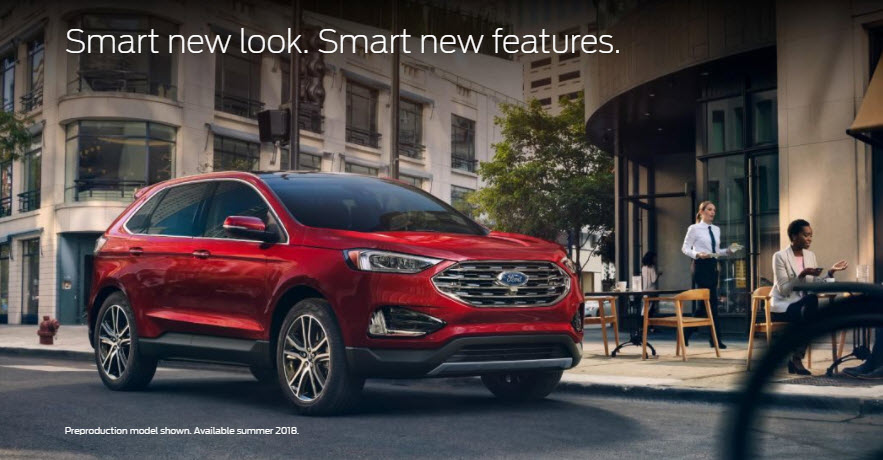 Exterior 2019 Ford Edge Charlotte - Cloninger Ford of ...