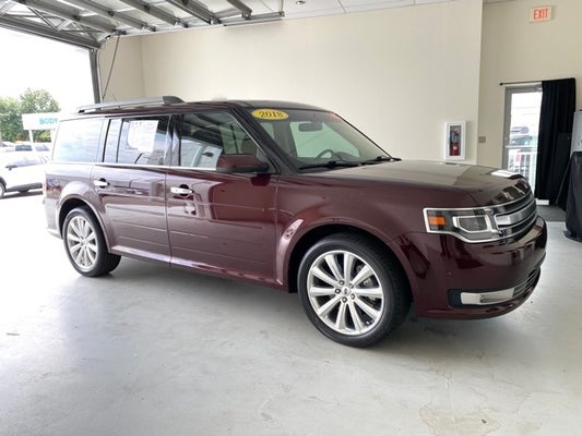 Cloninger Ford Hickory Nc >> 2018 Ford Flex Limited