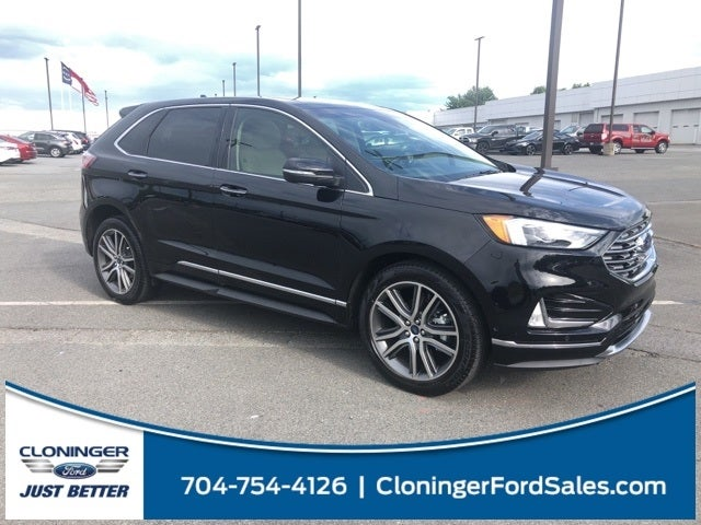Ford Edge Titanium In Hickory Nc Cloninger Ford Of Hickory