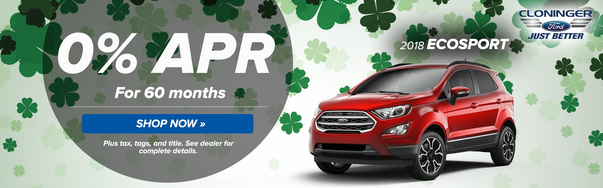 2018 Ecosport Cloninger Ford Of Hickory Specials Hickory Nc Page 3