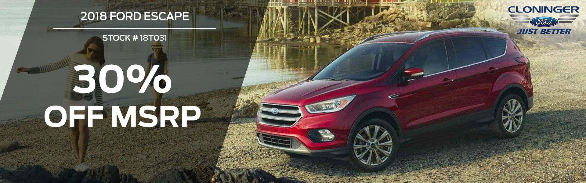 2018 Ford Escape Cloninger Ford Of Hickory Specials Hickory Nc