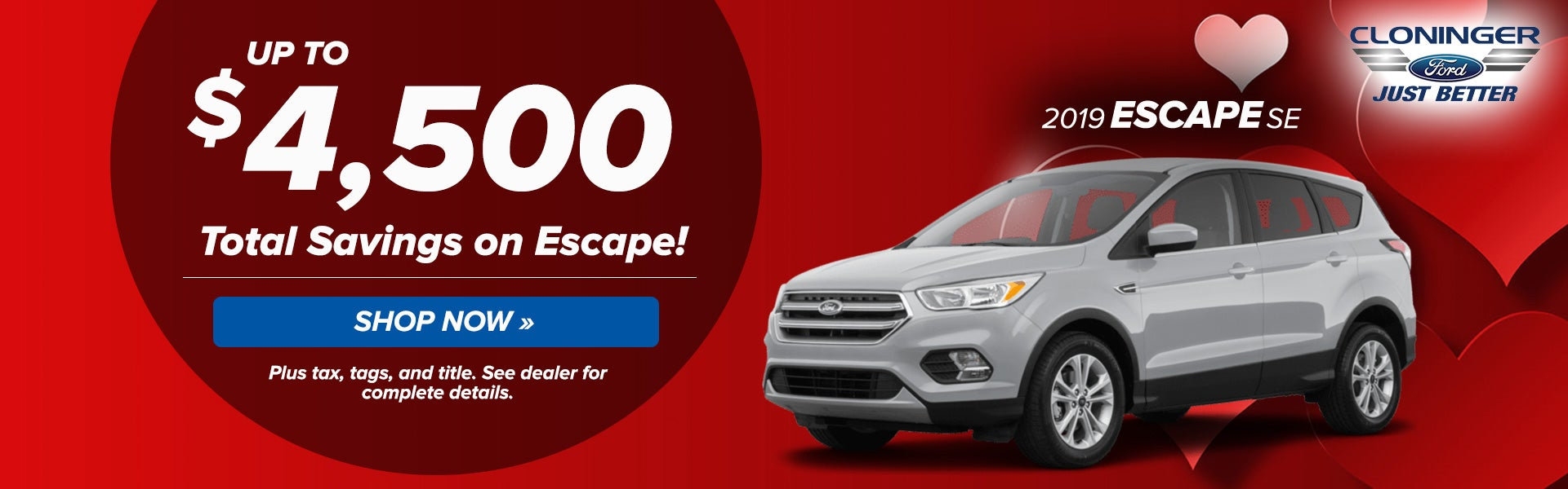Cloninger Ford Hickory Nc >> 2019 Escape Cloninger Ford Of Hickory Specials Hickory Nc Page 10